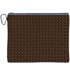 Fabric Pattern Texture Background Canvas Cosmetic Bag (xxxl)