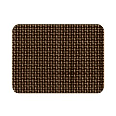 Fabric Pattern Texture Background Double Sided Flano Blanket (mini)