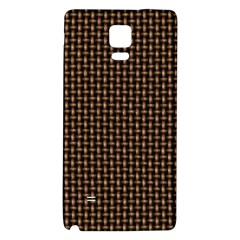 Fabric Pattern Texture Background Galaxy Note 4 Back Case