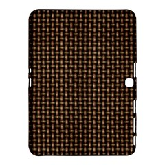 Fabric Pattern Texture Background Samsung Galaxy Tab 4 (10 1 ) Hardshell Case