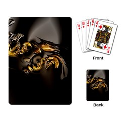 Fractal Mathematics Abstract Playing Card