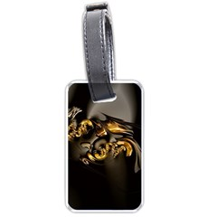 Fractal Mathematics Abstract Luggage Tags (one Side)