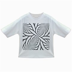 Fractal Symmetry Pattern Network Infant/toddler T Shirts