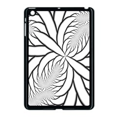 Fractal Symmetry Pattern Network Apple Ipad Mini Case (black)