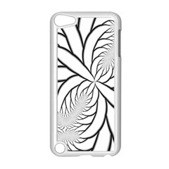 Fractal Symmetry Pattern Network Apple Ipod Touch 5 Case (white)