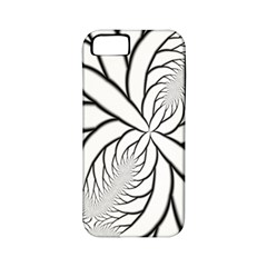 Fractal Symmetry Pattern Network Apple Iphone 5 Classic Hardshell Case (pc+silicone)