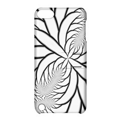 Fractal Symmetry Pattern Network Apple Ipod Touch 5 Hardshell Case With Stand