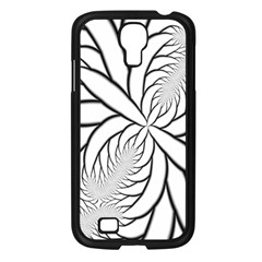 Fractal Symmetry Pattern Network Samsung Galaxy S4 I9500/ I9505 Case (black)