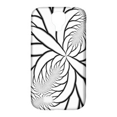 Fractal Symmetry Pattern Network Samsung Galaxy S4 Classic Hardshell Case (pc+silicone)