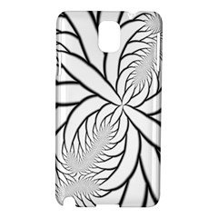 Fractal Symmetry Pattern Network Samsung Galaxy Note 3 N9005 Hardshell Case