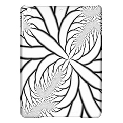 Fractal Symmetry Pattern Network Ipad Air Hardshell Cases