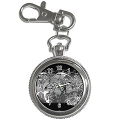 Kringel Circle Flowers Butterfly Key Chain Watches