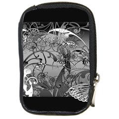 Kringel Circle Flowers Butterfly Compact Camera Cases