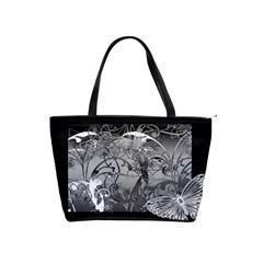 Kringel Circle Flowers Butterfly Shoulder Handbags