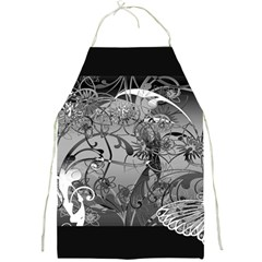 Kringel Circle Flowers Butterfly Full Print Aprons