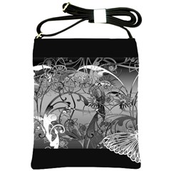 Kringel Circle Flowers Butterfly Shoulder Sling Bags