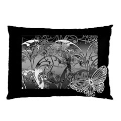 Kringel Circle Flowers Butterfly Pillow Case (two Sides)