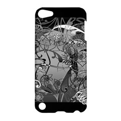 Kringel Circle Flowers Butterfly Apple Ipod Touch 5 Hardshell Case