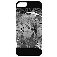 Kringel Circle Flowers Butterfly Apple Iphone 5 Classic Hardshell Case