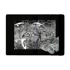 Kringel Circle Flowers Butterfly Apple Ipad Mini Flip Case