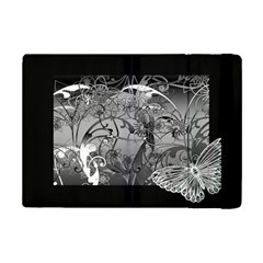 Kringel Circle Flowers Butterfly Ipad Mini 2 Flip Cases
