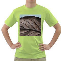 Leaf Veins Nerves Macro Closeup Green T Shirt
