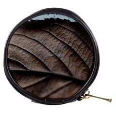 Leaf Veins Nerves Macro Closeup Mini Makeup Bags