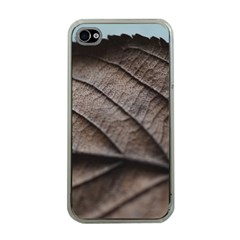 Leaf Veins Nerves Macro Closeup Apple Iphone 4 Case (clear)