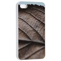 Leaf Veins Nerves Macro Closeup Apple iPhone 4/4s Seamless Case (White)