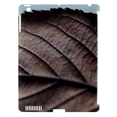 Leaf Veins Nerves Macro Closeup Apple Ipad 3/4 Hardshell Case (compatible With Smart Cover)