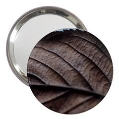 Leaf Veins Nerves Macro Closeup 3  Handbag Mirrors