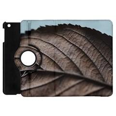 Leaf Veins Nerves Macro Closeup Apple Ipad Mini Flip 360 Case