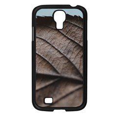 Leaf Veins Nerves Macro Closeup Samsung Galaxy S4 I9500/ I9505 Case (black)
