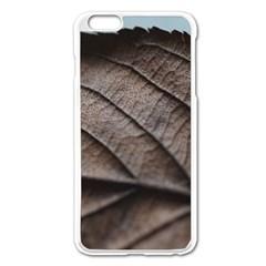 Leaf Veins Nerves Macro Closeup Apple Iphone 6 Plus/6s Plus Enamel White Case