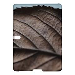 Leaf Veins Nerves Macro Closeup Samsung Galaxy Tab S (10 5 ) Hardshell Case