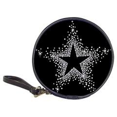 Sparkling Bling Star Cluster CD Wallet