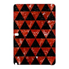 Triangle3 Black Marble & Red Marble Samsung Galaxy Tab Pro 10 1 Hardshell Case