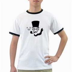 Invisible man Ringer T-Shirts