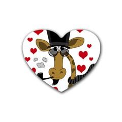 Mr. Right Rubber Coaster (Heart)