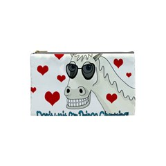 Don t Wait For Prince Sharming Cosmetic Bag (small)