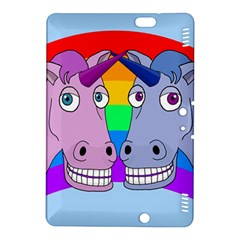 Unicorn Love Kindle Fire Hdx 8 9  Hardshell Case