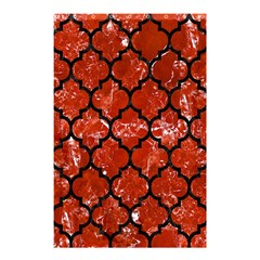 Tile1 Black Marble & Red Marble (r) Shower Curtain 48  X 72  (small)