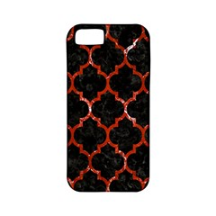 Tile1 Black Marble & Red Marble Apple Iphone 5 Classic Hardshell Case (pc+silicone)