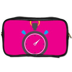 Alarm Clock Houre Toiletries Bags