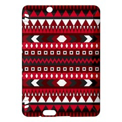 Asterey Red Pattern Kindle Fire Hdx Hardshell Case