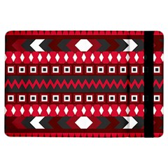 Asterey Red Pattern Ipad Air Flip