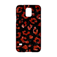 Skin5 Black Marble & Red Marble (r) Samsung Galaxy S5 Hardshell Case