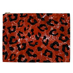 Skin5 Black Marble & Red Marble Cosmetic Bag (xxl)