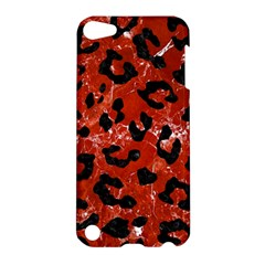 Skin5 Black Marble & Red Marble Apple Ipod Touch 5 Hardshell Case