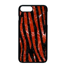 Skin4 Black Marble & Red Marble (r) Apple Iphone 7 Plus Seamless Case (black)